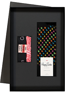 Heren cadeaubox Valentijn: Calvin Klein boxershort + Happy Socks