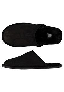Pantoffels heren, zwarte slof