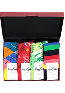 Happy Socks cadeauset, 4-pack Feest cadeau