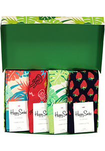 Happy Socks cadeauset, 4-pack Jungle Room