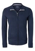 Schiesser heren lounge vest, blauw  (middeldik)