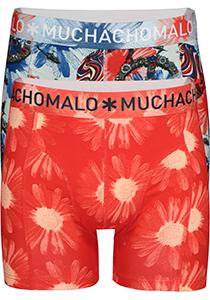 Muchachomalo boxershorts 2-pack, Flower Power