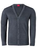 OLYMP Level 5, heren vest, antraciet (Slim Fit)