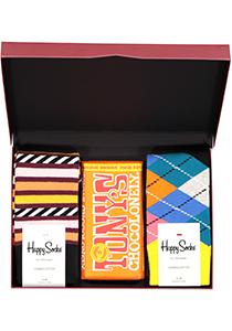 Happy Chocolade cadeauset; Oranje onder