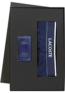 Heren cadeaubox: Le homme Lacoste parfum met Lacoste boxer in cadeaubox