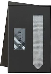 Heren cadeaubox: Burberry Brit parfum met zwart-grijze stropdas