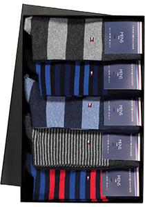 Cadeaubox: 10 paar Tommy Hilfiger Stripe sokken
