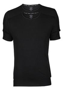 Calvin Klein Modern Cotton stretch T-shirts (2-pack), O-hals, zwart