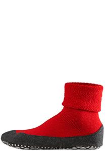 Falke Cosyshoe herensokken, rood