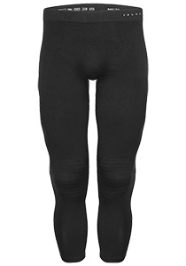 Falke maximum warm, thermo broek lang, zwart