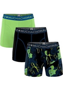 Muchachomalo boxershorts, 3-pack, Off the grid