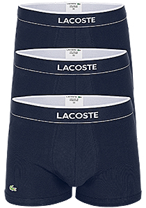 Lacoste Trunks kort model (3-pack), blauw