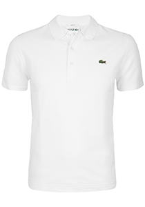 Lacoste Sport polo Slim Fit, wit (ultra lightweight knit)