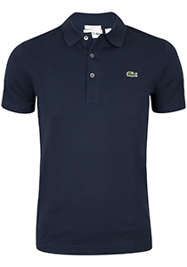 Lacoste Sport polo Slim Fit, blauw (ultra lightweight knit)