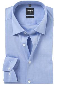 OLYMP Level 5 overhemd, mouwlengte 7, blauw