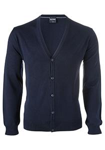 OLYMP heren vest wol, marine blauw