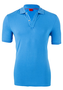OLYMP Level 5 Body Fit poloshirt (stretch), licht blauw