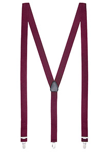 Bretels smal, bordeaux rood