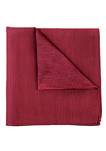 Michaelis pocket square, bordeaux rode pochet