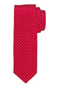 Michaelis stropdas, rood witte stippen