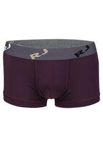 RJ Bodywear Pure Color, heren trunk, aubergine (micro)