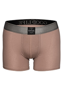 RJ Bodywear The Good Life, heren boxershort, zand
