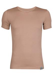 RJ Bodywear The Good Life, 2-pack T-shirt V-hals, huidskleur
