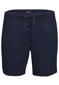 Schiesser Mix+Relax korte lounge broek (dun), blauw