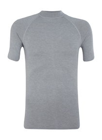 RJ Bodywear, thermo T-shirt, grijs
