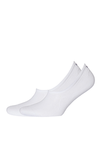 Tommy Hilfiger onzichtbare sneaker sokken (2-pack), wit