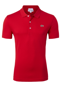 Lacoste Sport polo Slim Fit, rood (ultra lightweight knit)