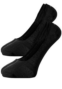 Actie 2-pack: Burlington sneaker sokken katoen (Everyday), zwart