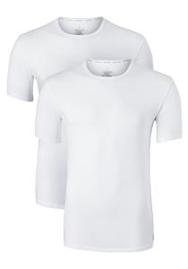 Calvin Klein Modern Cotton stretch T-shirts (2-pack), O-hals, wit