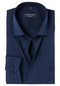 Casa Moda Modern Fit overhemd, marine blauw