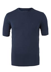 Casa Moda  T-shirt, O-neck, marine blauw