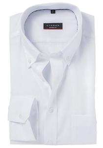 ETERNA Modern Fit overhemd, wit Oxford (Button Down)