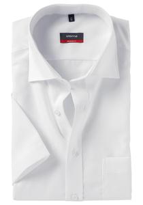 Eterna Modern Fit overhemd, korte mouw, wit