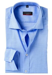 ETERNA Modern Fit overhemd, blauw fijn Oxford