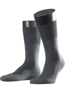 Falke Run herensokken, dark grey