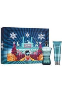 Heren cadeauset: Jean Paul Gaultier Kersteditie Le Male Eau de Toilette 75ml + shower gel