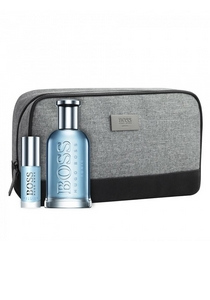 Heren cadeauset: Hugo Boss Bottled Tonic 100ml eau de toilette + 8ml miniatuur