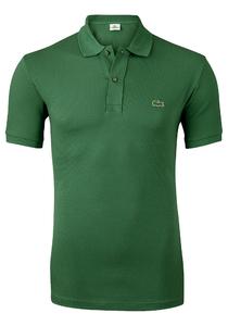 Lacoste Slim Fit polo, donker groen