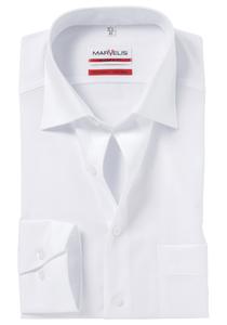 MARVELIS Modern Fit overhemd, wit