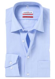 MARVELIS Modern Fit overhemd, mouwlengte 7, lichtblauw