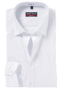 MARVELIS Body Fit overhemd, mouwlengte 7, wit