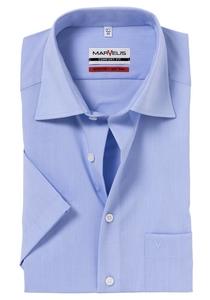 MARVELIS Comfort Fit, overhemd korte mouw, lichtblauw