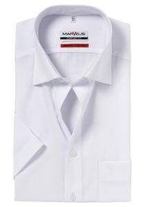 MARVELIS Comfort Fit, overhemd korte mouw, wit