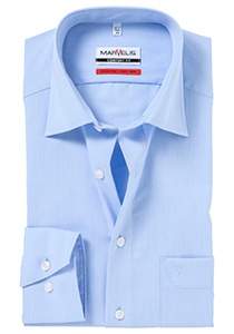 MARVELIS Comfort Fit overhemd, mouwlengte 7, lichtblauw