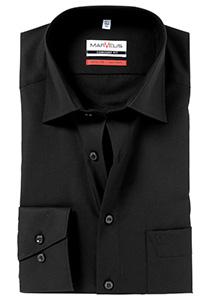 MARVELIS Comfort Fit overhemd, zwart
