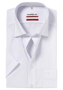 MARVELIS Modern Fit, overhemd korte mouw, wit